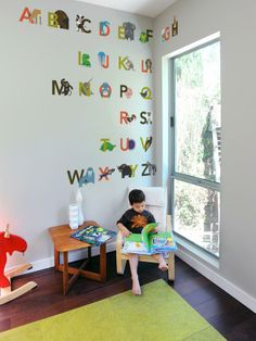 The Coolest Wall Decals for Kids' Rooms : Rooms : Home & Garden Television