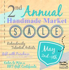 May 2nd-9th, 2015 at Best Bib and Tucker, Hartville, Ohio