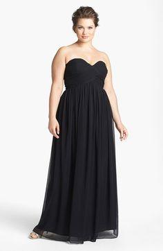 Pictures of plus size bridesmaid dresses