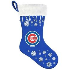 MLB Chicago Cubs Snowflake Stocking * This is an Amazon Affiliate link. You can find out more details at the link of the image.