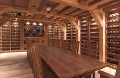 Beautiful wine cellar.  #ZacBacon #PlacerLuxuryProperties #WineCellar #Luxury…