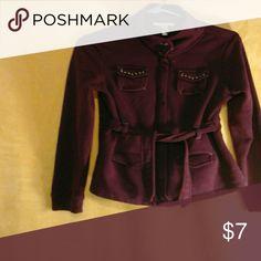 Light jacket Purple - brand is RuffHewn Jackets & Coats