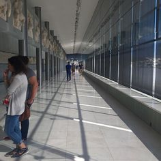 What a #breathtaking day. I rank this one of the top #museums I have ever been to. The #curation and size and #architecture ... it's not just a place. As you walk slowly and look at all of the details and then glance out the window at the #Acropolis itself and the city of #Athens named for #Athena time bends and #history floods your #imagination and #feelings of what it might have been like rush in. It's #glorious. #Ancient #Greek #human #civilization #thought #gods #centaurs #amazonwomen
