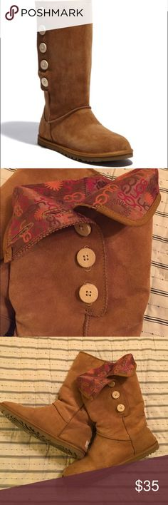 UGG Australia 'Lo Pro' Suede Boot UGG Australia 'Lo Pro' Suede Boot. Chestnut. Sz 9. Very good condition. Worn a handful of times. Treated and well cared for. UGG Shoes Moccasins