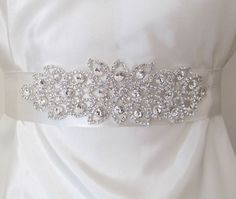 cute wedding gown belt