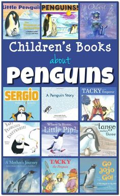 12 books about penguins for kids (+ 1 documentary). A great collection of fiction and non-fiction children's books about penguins.  || Gift of Curiosity