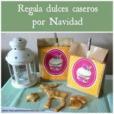 Idea regalo #Navidad: dulces caseros www.manualidadesytendencias.com #christmasgiftidea #idearegalo