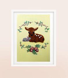 You and Me Nursery Art by YoyoArtLab, $45.00