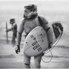 Stormtroopers surf style #stormtrooper #surf