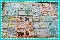 Gorgeous Anita Goodesign Playhouse Baby/ toddler quilt by BeautifulBabesBtq on Etsy