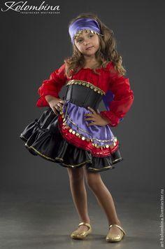 Купить или заказать Костюм Цыганка в интернет-магазине на Ярмарке Мастеров. Карнавальный костюм для девочки Цыганка.