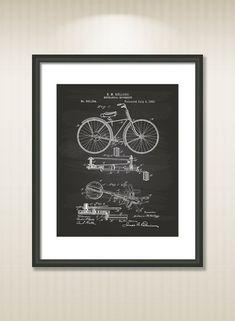 Mechanical Movement 1893 Patent Art Illustration  Drawing #patentartposters