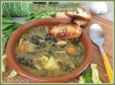 Ribollita toscana Pane Tostato, Zia, Fett, Soups And Stews, Cheeseburger Chowder, Italian Recipes, Pasta, Cooking, Desserts