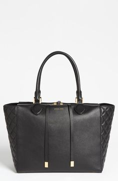 Michael Kors 'Large Miranda' Leather Tote available at #Nordstrom
