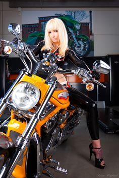 Hairstyles With Bangs, Punk, Bike, Fashion, Bang Hairstyles, Bicycle, Moda, Fashion Styles, Fasion