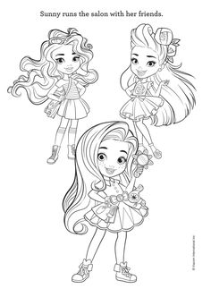 Here is the Sunny Day Coloring Page! Click the picture to ...