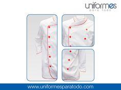 ¡En la cocina también es importante el uso de uniforme! No solamente para mantener la seguridad e higiene de tu personal, sino también para generarle confianza a tus clientes. #UniformesParaTodo #Cocina #Restaurante #Marca