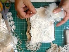 Doily Book Tutorial, Part 2 - jennings644 - YouTube