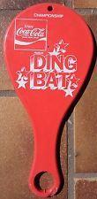 1970's COCA COLA CHAMPIONSHIP DING BAT PADDLE coke yo-yo