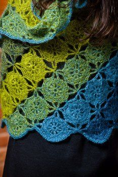 Lovely lacy crochet wrap. Though I'll have to make it for someone else. #crochet