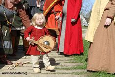 Viking children also learn to be warriors #viking #children #Ribe #norse