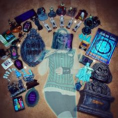 """I've acquired so many Haunted Mansion collectibles, that I've turned into a Ghost Host! Here's my entry for the """"Disney Side Contest!"""" Disney, please pick me!!!  No one will appreciate a midnight party in The Haunted Mansion like I will! And an overnight stay at Cinderella's Castle?! Whaaa?! I've been a Disney kid my whole life, so I would cherish every second of this trip! #disneysidecontest #hauntedmansion"""