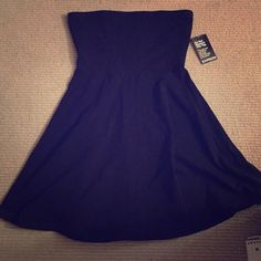 Express strapless fit and flare dress NWT. Gorgeous dress Express Dresses Strapless