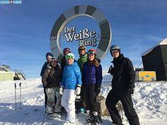 White Ring in Lech, Austria #skiing #travel #austria