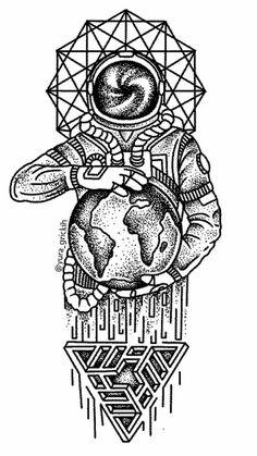 DIY Geometric Animals Fox Plant Temporary Tattoo Women Sexy Waterproof Disposable Black Tatoos Body Art Painting Tattoo Stickers , Brand Name: BAOFULISize: Temporary Tattoo Astronaut Tattoo, Fake Tattoos, Body Art Tattoos, Cool Tattoos, Small Tattoos, Tatoos, Tattoo Sketches, Tattoo Drawings, Art Sketches