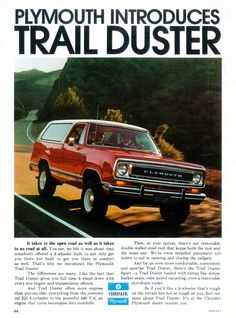 Vintage Car Advertisements of the (Page Old Dodge Trucks, Dodge Pickup, Pickup Trucks, Ram Trucks, Vintage Trucks, Vintage Ads, Dodge Ramcharger, Classic Trucks, Classic Auto