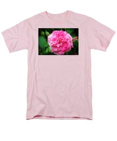 Pink T-Shirt featuring the photograph Pink Delight by Cynthia Guinn