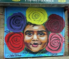 This is the seventh in a series of occasional posts featuring images of children that surface on our public spaces: Gustavo Nénão in Chelsea Joe Iurato in Jersey City Stinkfish in Bushwick Jef Aerosol at the Bushwick Collective Danielle Mastrion in Staten Island with the Centrefuge Public Art Project Photos: 1 City-As-School intern Zachariah Messaoud; 2, 3 & 5 Lois Stavsky; 4 Dani Reyes Mozeson