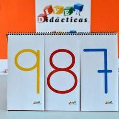 """""""Dictado de números"""". Cuaderno diverdidáctico para que niños de 6 a 8 años trabajen la lectura y escritura de números hasta 3 cifras. ¿Cuál es el número trescientos veinticuatro? ¡Listo para jugar por 13,40€!"""