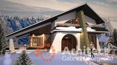 Casa cu etaj 54 | Proiecte de case personalizate | Arhitect Gabriel Georgescu & Echipa Modern House Facades, Modern Houses, Landscape Architecture Design, Dream House Exterior, House Elevation, Facade House, Design Case, Simple House, Home Fashion