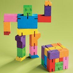 It's a cube, it's a robot...it's a Cubebot! | $14.99