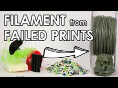 I recycled my old PLA prints and made new filament out of it! Let me show you how I extruded my own material with the Filastruder. 💚 Support me 💚 Patreon: ht. 3d Printer Designs, 3d Printer Projects, 3d Projects, 3d Printing Diy, 3d Printing Service, Impression 3d, Build A 3d Printer, Lego 3d, Useful 3d Prints