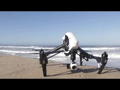 ▶ DJIs new Inspire 1 - first video in action - YouTube
