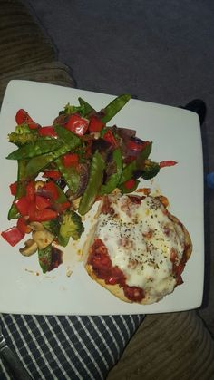 Pizza topped chicken