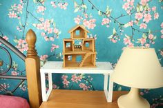 Dollhouse Toys, Wooden Dollhouse, Miniature Dollhouse, Miniature Houses, Dollhouse Furniture, Wooden Gifts, Wooden Decor, Wooden Toys, Handmade Birthday Gifts