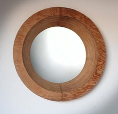 The Slant 6 Plywood Mirror
