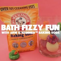Did you know you can use ARM & HAMMER™Baking Soda for bath time? Just mix cup baking soda, 4 tsp corn starch, and 8 tsp unsweetened lemon drink mix. Separately, mix cup mineral oil and drops of food coloring. Slowly combine the two mixtures an Diy Projects For Kids, Crafts For Kids, Fun Crafts, Diy And Crafts, Soda Brands, Lemon Drink, Diy Spa, Belleza Natural, Bath Time