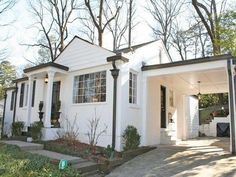 Image Result For White House With Black Gutters Bungalow Exteriorexterior Paintexterior Designmobile