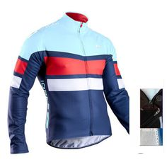 Get your Sugoi Mens Evolution PRO Long Sleeve Jersey (Blue) at SportPursuit today. Mtb Clothing, Triathlon Gear, Bob, Thermal Long Sleeve, Cycling Outfit, Cycling Clothes, Cycling Jerseys, Sport Wear, Sports Shirts