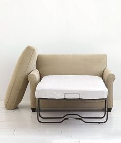 oversize reading chair bed! (twin sleeper). Great for extra sleeping option without having space for a full size sofa. :)
