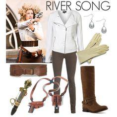 "River Song: ""The Big Bang"" @RachaelHiigel: For Halloween! Trust me, you have similar stuff!"