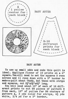 "dresden plate templates | Baby Aster Doll Quilt Top"" was published on February 24th, 2012 and ..."