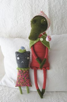 Libby & Augusta by Sweetnellie, via Flickr