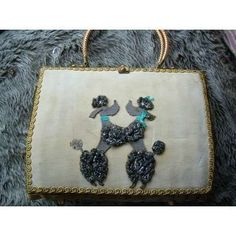 I think I'll start collecting vintage #poodle purses