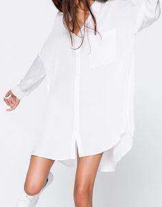 Oversized shirt - Blouses & shirts - Clothing - Woman - PULL&BEAR Ukraine
