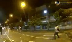 skeetbucket:  onlylolgifs:  Hong Kong protester catching a tear gas grenade and throwing it back  This shit goes hard as hell